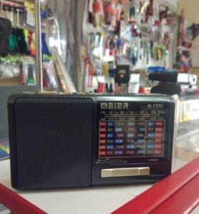 Радио FM с прожектором.