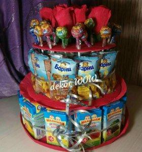 Тортики в детский сад
