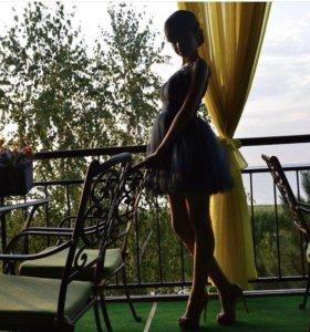 Коктельное платье со стразами Svarovski