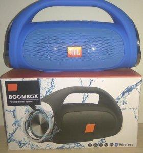 Портативная FM MP3 колонка в стиле JBL Boombox min