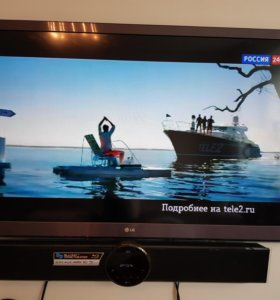 Телевизор 55'' LG55LW575S+blu-ray Саундбар
