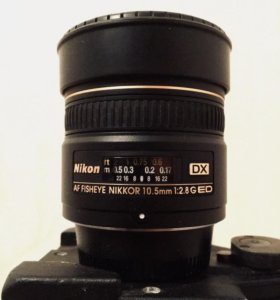 Объектив Nikon 10.5mm f/2.8G ED DX Fisheye