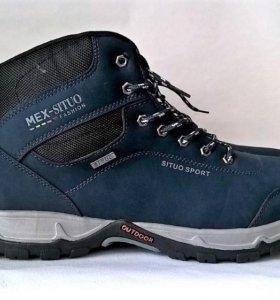 Новые зимние ботинки 48 разм.