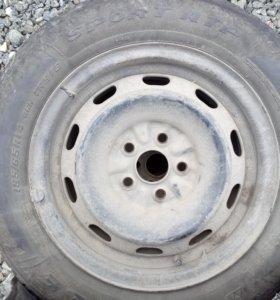 Колеса в сборе (шины на дисках)