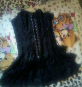 Корсет платье