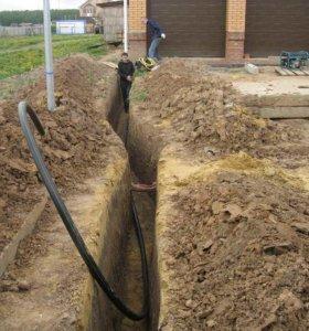 Монтаж водопровода, канализации, отопления.