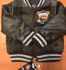Детская куртка новая Small Gang