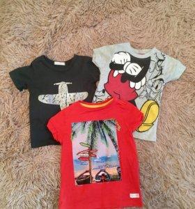 Детские футболки,размер 92