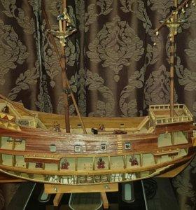 модель корабля деагостини