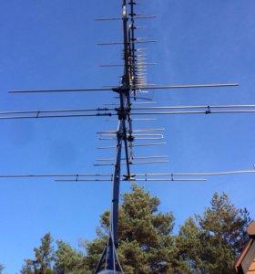 Установка эфирных и спутниковых антенн