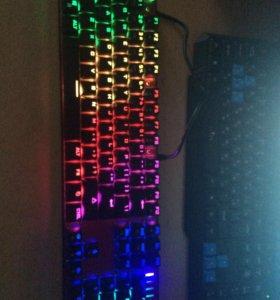 Клавиатура механическая с подсветкой