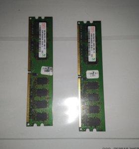 2gb 2Rx8 PC2-6400U-666-12 HYMP125U64CP8-S6 AB-C