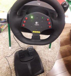 Руль игровой Momo