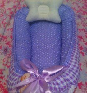НОВОЕ!! гнездышко+подушечка для кормления