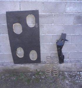 Плока и ланжерон от ваз2109 пружины 2106