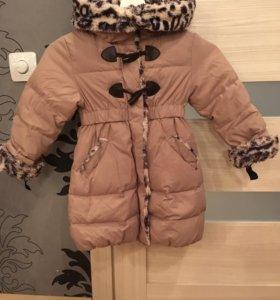Куртка на пуху(3-5 лет)