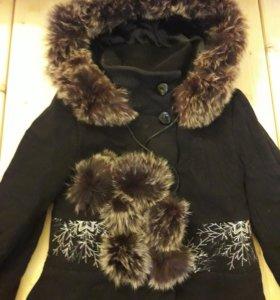 пальто зимнее фабричное
