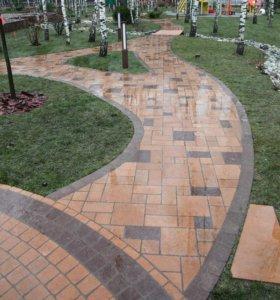 Плитка тротуарная. Сертифицировано ГОСТ 17608-2017