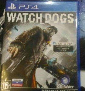 Продам игру на ps 4 WATCH DOGS