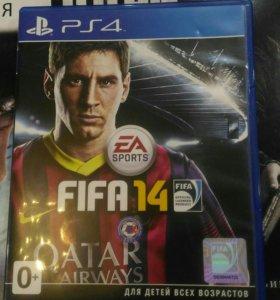Продам игру б/у на PS4 fifa14
