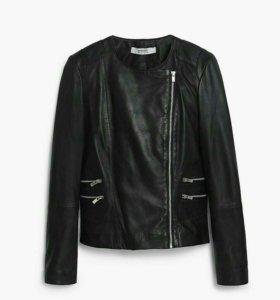 Новая Куртка кожа, Испания, размер S-M 42-44.