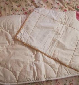 Одеяло, подушка, наматрасник