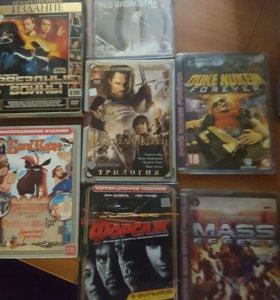 Фильмы, мультфильмы, игры