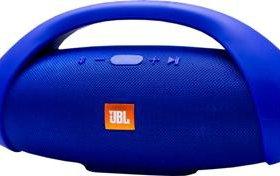 Портативная колонка JBL BOOMS BOX синяя
