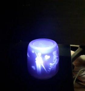Свечи электрические,задуваемые,10 шт