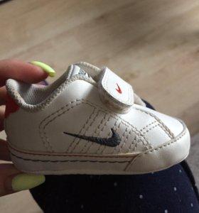 Пинетки Nike, туфельки и сапожки