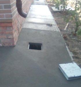 Заливка бетона кладка кирпича ,пеноблока