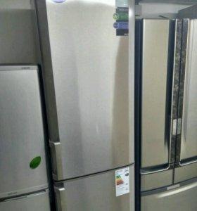 Стальной холодильник 2 м