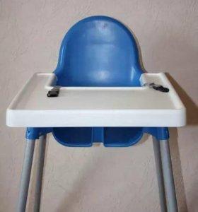 Столик-стульчик для кормления IKEA