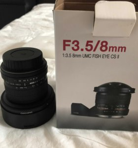 Объектив Canon EF Fish-eye F3.5 / 8 mm UMS CS II
