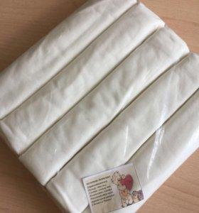 Трикотажные пеленки 5 шт