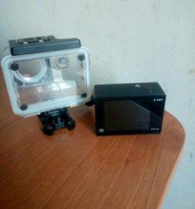 X Try Action camera видеокамера без карты памати