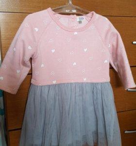 Платье теплое 86 BabyGo