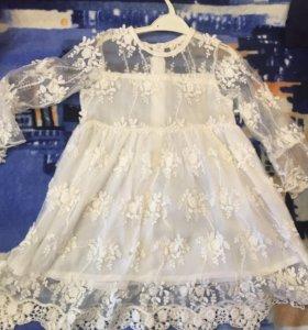 Детское платье .