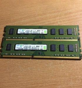 Оперативная память Samsung ddr3 4GB - x2