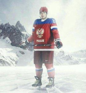 Хоккейные джерси сборных России, Чехии, Финляндии