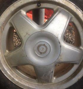 Пара дисков R 16 Audi