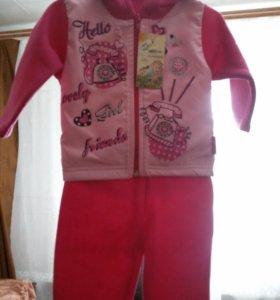 детский костюмчик новый