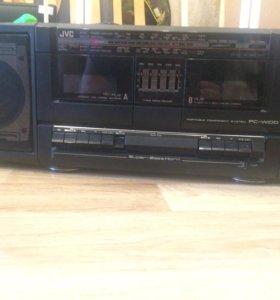 Двухкассетная магнитола JWC PC-W100