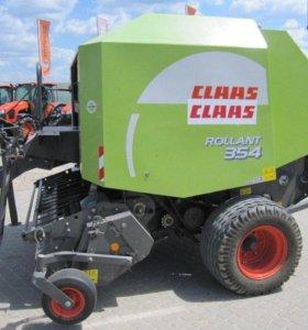 Пресс подборщик Claas Rollant 354