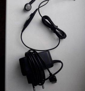 Зарядники 2шт+2гарнитуры SAMSUNG/новый/
