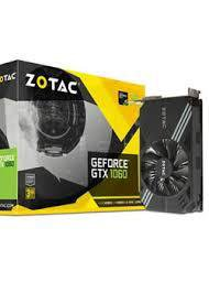 Видеокарта ZOTAC GTX 1060 3GB MINI