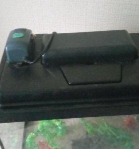 аквариум 30л компрессор,декор,фильтр