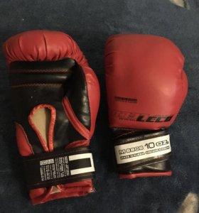 Перчатки боксерские, 10 oz