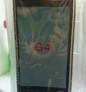 Чехол для LG Optimus G4 матовый серый
