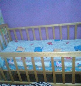 Кровать - маятник